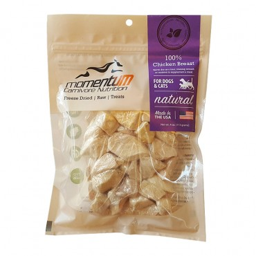 Momentum Carnivore Nutrition Freeze-Dried Chicken Breast Dog & Cat Treat