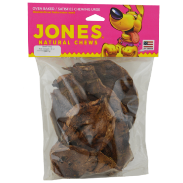 Jones Natural Chews Lamb Lung Puffs Dog Treat, 8 oz