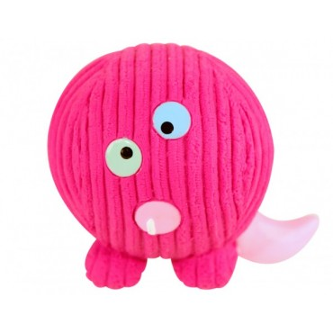 Hugglehounds Ruff-Tex Monstah Purple People Eater Dog Toy
