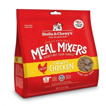 Stella & Chewy's Chewy's Chicken Freeze Dried Meal Mixers Dog Food, 8 oz