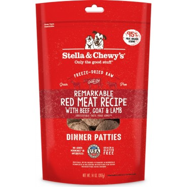 Stella & Chewy's Remarkable Red Meat Freeze-Dried Dinner Patties Dog Food