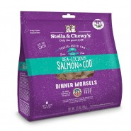 Stella & Chewy's Sea-Licious Salmon & Cod Dinner Morsels Freeze Dried Cat Food