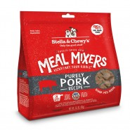 Stella & Chewy's Purely Pork Freeze Dried Meal Mixers Dog Food