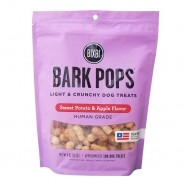 Bixbi Bark Pops Light & Crunchy Sweet Potato & Apple Flavor Dog Treats, 4 oz