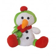 Bavarian Cat Holiday Snowman Cat Toy