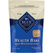 Blue Buffalo Health Bars Baked with Chicken Liver Dog Treats, 16 oz
