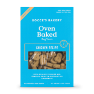 Bocce's Bakery Grain-Free Chicken Biscuits Dog Treat, 12 oz