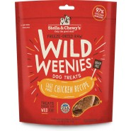Stella & Chewy's Wild Weenies Cage-Free Chicken Freeze-Dried Dog Treats, 3.25 oz