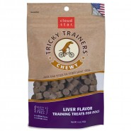 Cloud Star Chewy Tricky Trainers Liver Dog Treats, 5oz