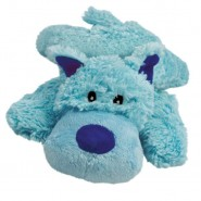 KONG Cozie Baily the Blue Dog Plush Dog Toy