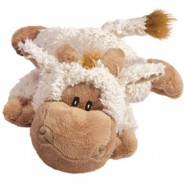 KONG Cozie Tupper the Lamb Plush Dog Toy