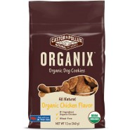 Castor & Pollux Organix Organic Dog Cookies Dog Treats - Chicken Flavor