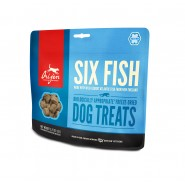 ORIJEN Six Fish With Wild Caught Atlantic Fish Freeze Dried Dog Treats