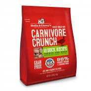 Carnivore Crunch Cage-Free Duck Freeze Dried Dog Treat, 3.25 oz