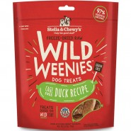 Stella & Chewy's Wild Weenies Cage-Free Duck Freeze-Dried Dog Treats, 3.25 oz