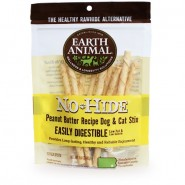 Earth Animal No-Hide Peanut Butter Stix Dog & Cat Treat, 10 Pack