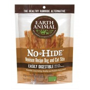 Earth Animal No-Hide Venison Stix Dog Treat, 10 Pack