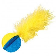 KONG Flipz Felt & Feather Cat Toy