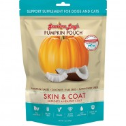 Grandma Lucy's Pumpkin Pouch Skin & Coat  Support Supplement for Dogs and Cats, 6 oz