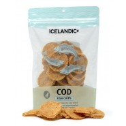 Icelandic+ Cod Fish Chips Dog Treats, 2.5 oz