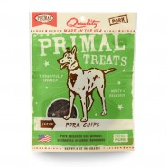 Primal Jerky Pork Chips Dog Treats, 3 oz