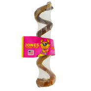 Jones Natural Chews Curly Q Dog Treat, .33 oz - 1 stick shrink-wrapped