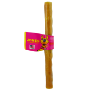 Jones Natural Chews 10 inch K-9 Bacon Roll Dog Treat, 1 stick shrink-wrapped