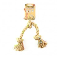Beco Pets Eco-Friendly Jungle Triple Knot Hemp Rope Dog Toy