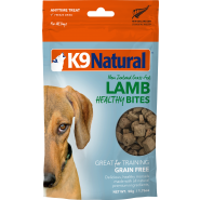 K9 Natural Freeze Dried Grass-Fed Lamb Healthy Bites Dog Treats,1.76 oz