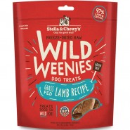 Stella & Chewy's Wild Weenies Grass-Fed Lamb Freeze-Dried Dog Treats, 3.25 oz