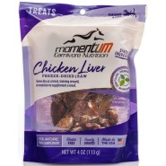 Momentum Carnivore Nutrition Freeze-Dried Chicken Liver Dog & Cat Treat