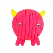 Hugglehounds Ruff-Tex Monstah Pink Fuchsia Fighter Dog Toy