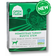 Open Farm Homestead Turkey Rustic Stew Wet Dog Food, 12.5 oz – Case of 12