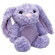 Pastel Softie Rabbit Plush Dog Toy