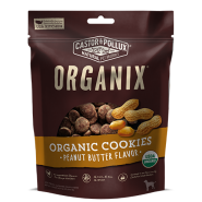 Organic Dog Cookies Dog Treats - Peanut Butter Flavor, 12oz