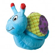 KONG Picnic Patches Plush Dog Toy, Snail