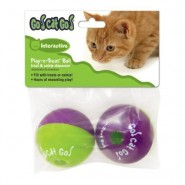 Play-N-Treat Cat Toy, 2 Pack