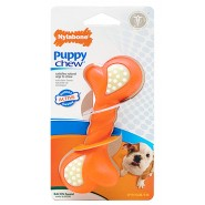 Nylabone Puppy Double Action Rubber Chew Dog Toy