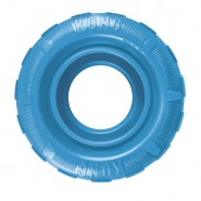 KONG Puppy Tire Dog Toy, BLUE