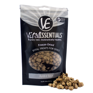 Vital Essentials Rabbit Bites Freeze Dried Dog Treats, 2 oz