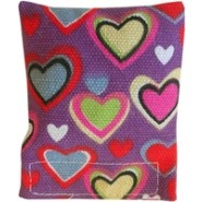 Catnip Heart Pillow Cat Toy