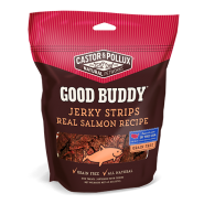Castor & Pollux Good Buddy Jerky Strips Real Salmon Recipe Dog Treats, 4.5 oz
