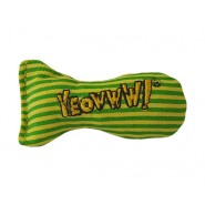 Yeowww! Catnip Stinkies Catnip Sardines Cat Toy, Stripes