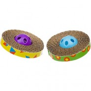 Petstages Spin & Scratch Cat Toy, 2 pack