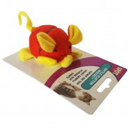 Rattle Clatter Mouse with Catnip Cat Toy, 1 each