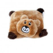ZippyPaws Squeakie Pad Bear Dog Toy