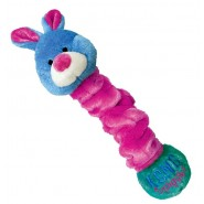 KONG Squiggles Plush Dog Toy, RABBIT