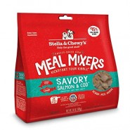 Stella & Chewy's Savory Salmon & Cod Freeze Dried Meal Mixers Dog Food, 8 oz