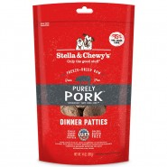 Stella & Chewy's Purely Pork Freeze-Dried Raw Dinner Patties Dog Food