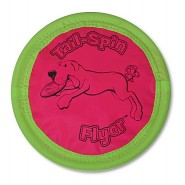 Booda Tail Spin Flyer Soft Floppy Disk Dog Toy